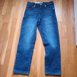 Ella Moss Women's High rise slim straight 👖 jeans